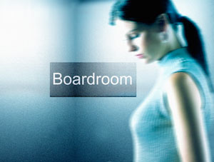 board room available/unavailable signs