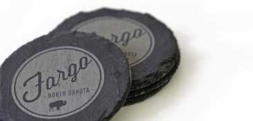 Custom Slate Coasters - Made in America