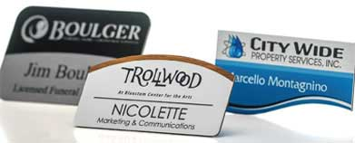 Custom Logo Name Badges and Name Tags