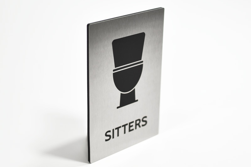 Humorous Bathroom Signs Funny Restroom Signs For The