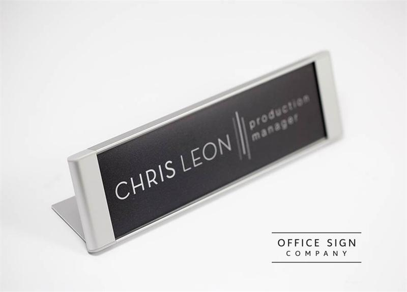 desk signs | lobby nameplates | office desk name plates