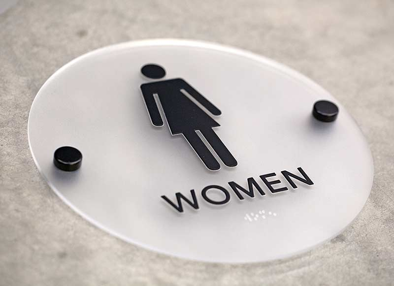 Bathroom Signs With Braille stylish restroom signs with braille - cool bathroom signs ada