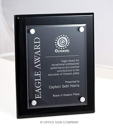 Employee Recognition Plaques Stylish Recognition Award
