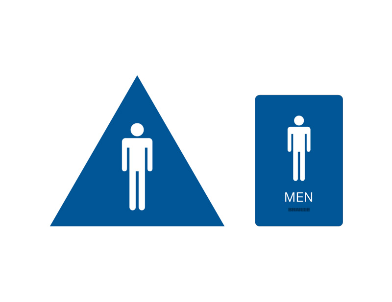 Bathroom Signs Braille california ada restroom signs | ca braille bathroom signs | men's