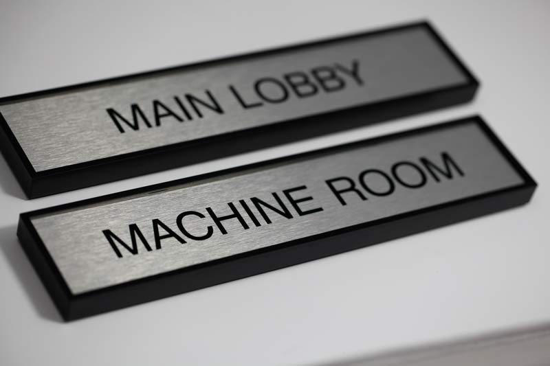 Name Plate: Office Door Name Plates
