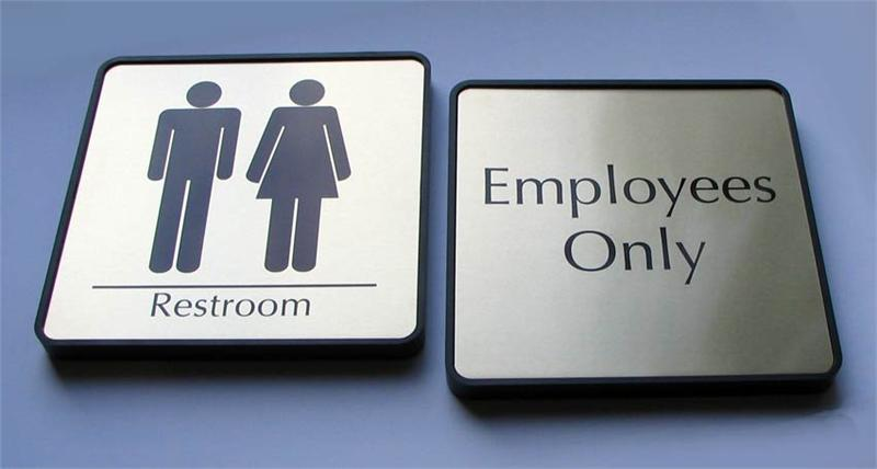 Bathroom Signs Tumblr mens and womens restroom signs | bathroom signs for business