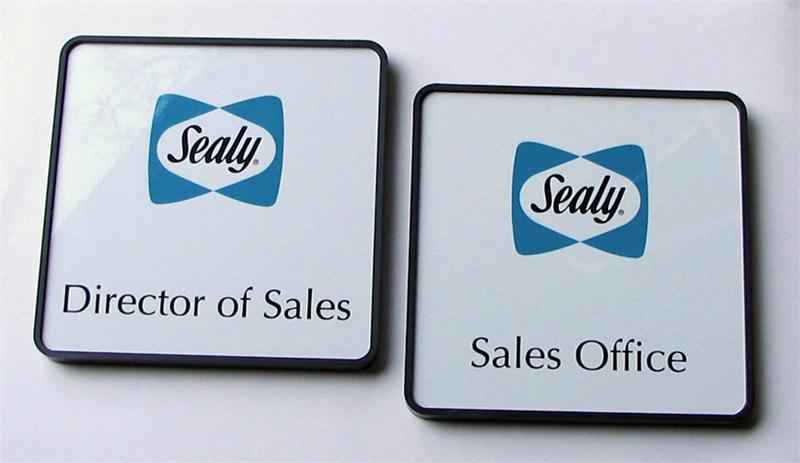 name plates | color office door signs & nameplates | corporate