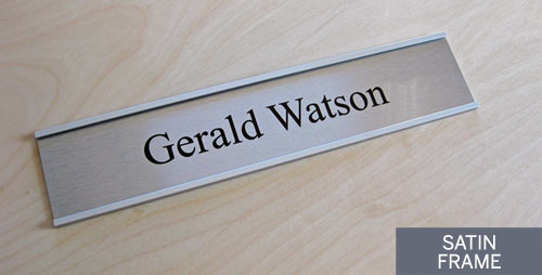 satin silver bank signs u0026 corporate office door signs