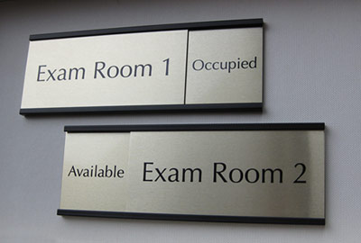 in-out sliding signs & office door slider signs | room name plates