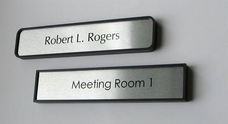 medical office door sign for doctors military and governement offices