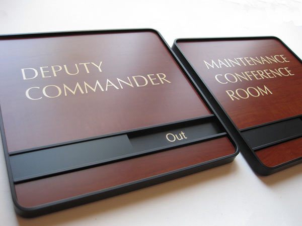 military office signs
