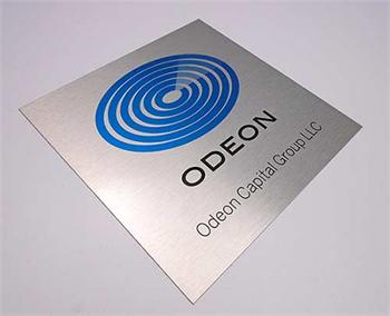 custom door signs | full color office signs | metal suite room