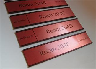 warm brown room signs office signs u0026 door signs