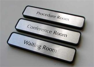 Interior Office Room Signage