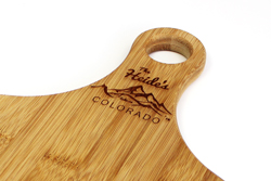 Bamboo Cutting Board with Logo