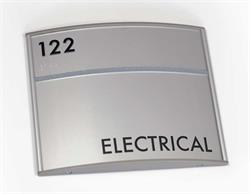 Curvd Office Signs - Electrical Sign