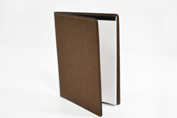 Custom Leatherette Portfolio with Notepad and Inside Pocket