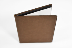 Personalized Leatherette Portfolio with Notebook, Inside Pocket and Pen Holder