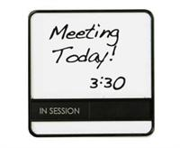 Whiteboard Conference Schedule Office Door Sign With