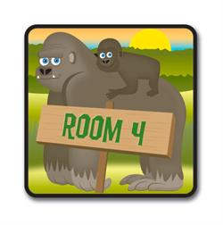 Animal Office Signs & Room Number Signs for Kids