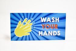 Bathroom Hand Washing Signs for Kids
