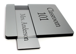 Engraved Name Plate Insert Channel Sign