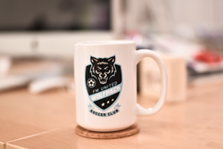 Customized Ceramic Coffee Mugs with Full Color Print