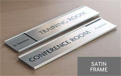 Silver Corporate Door Signs & Silver Nameplates