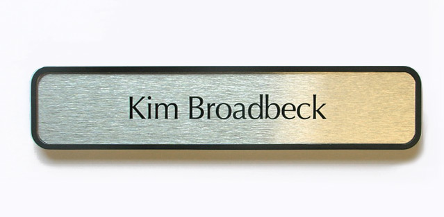 Office Name Plates: Office Door Name Plates