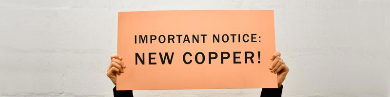 office signs copper