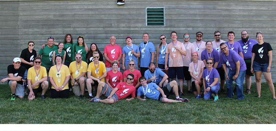 Office Sign Company Staff Olympics