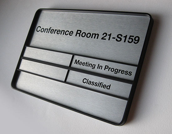 Government Office Signs And Room Signs - Conference room door signs for offices