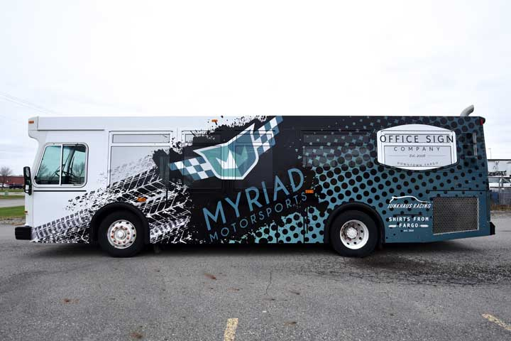 Vehicle Wrap Bus
