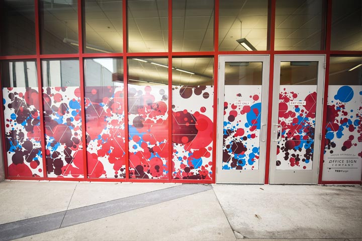Window Vinyl TED Talks