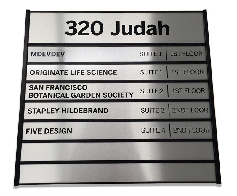 Office Directory Signs Suite Signs Wayfinding Signs