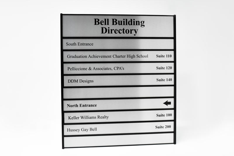 Building Directory Signs Suite Directory Signs Office