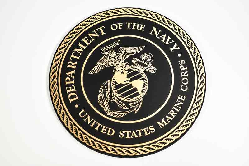Army Plaques | Navy Emblems | Marines Wall Plaques | Cast