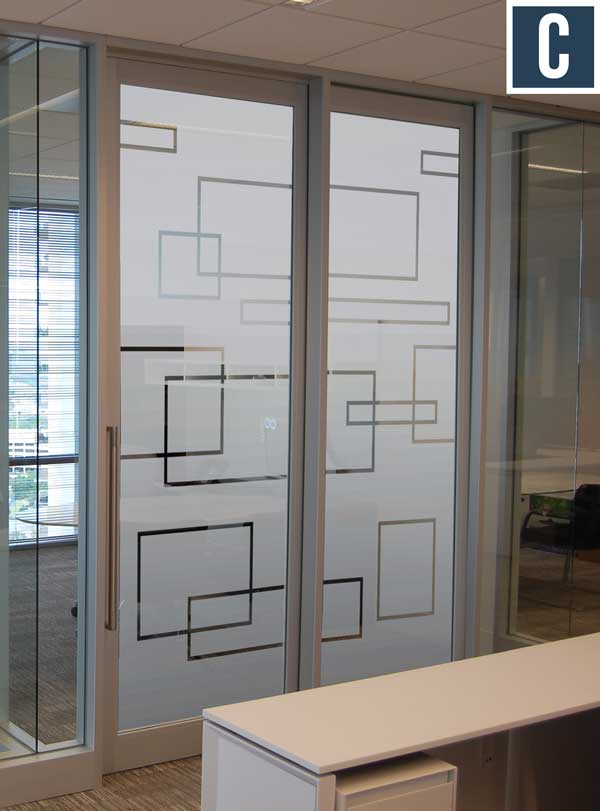 Privacy vinyl for glass doors frosted vinyl for for Door vinyl design
