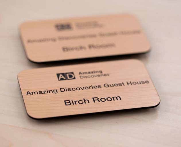 Name Badge: Premium Name Badges