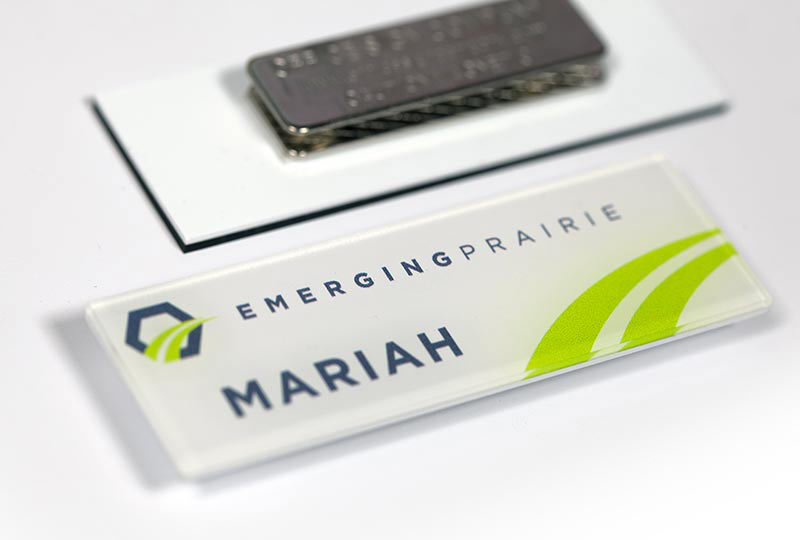 Employee Name Tags Plastic Badges
