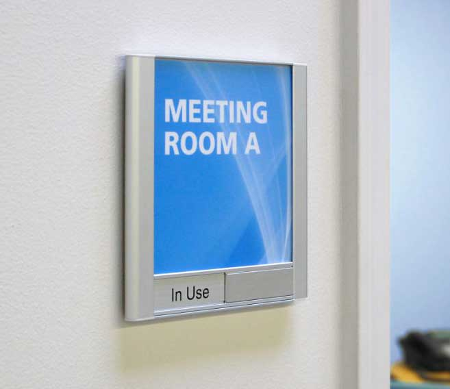 Conference Room Signs | Sliding In Out Signs & Insert Office Signs