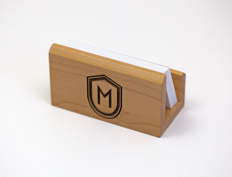 Custom Engraved Business Card Holder
