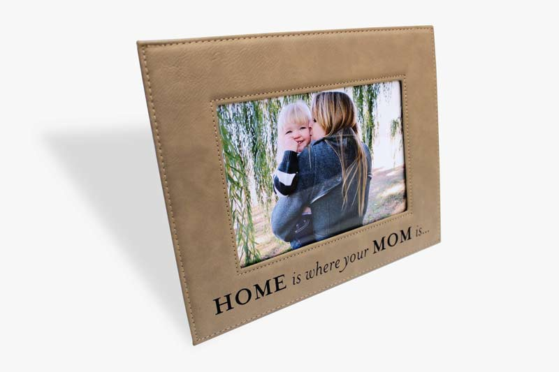Personalized Leatherette Photo Frame   Corporate Gifts & Awards