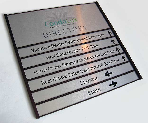 Building Directory Signs Suite Directory Signs Office Wayfinding Signs