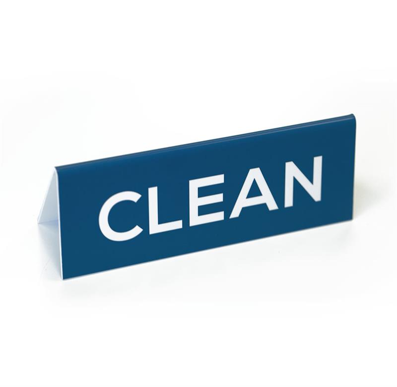 Clean Dirty Two Sided Sign Office Sign Company