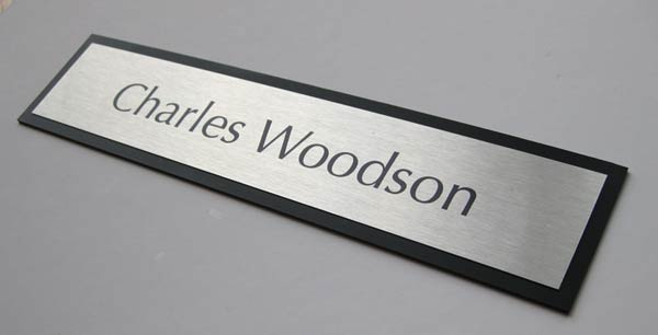 Personalized Name Plates Professional Brushed Metal Office Interior Signs