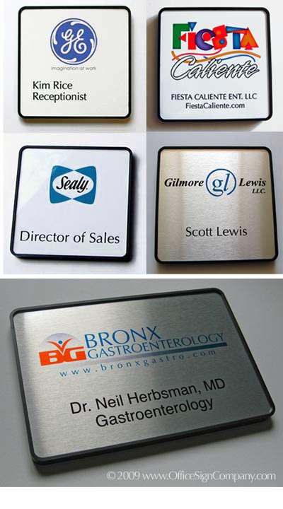 name plates color office door signs nameplates corporate