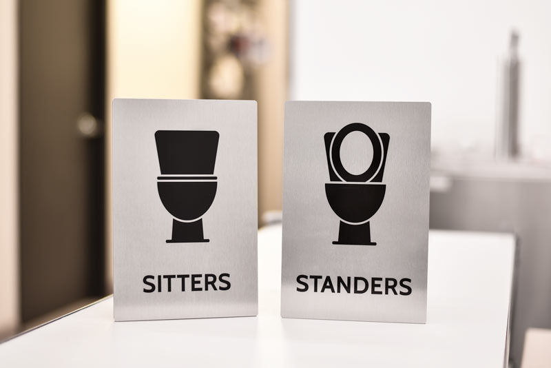Humorous Bathroom Signs Funny Restroom Signs For The Workplace