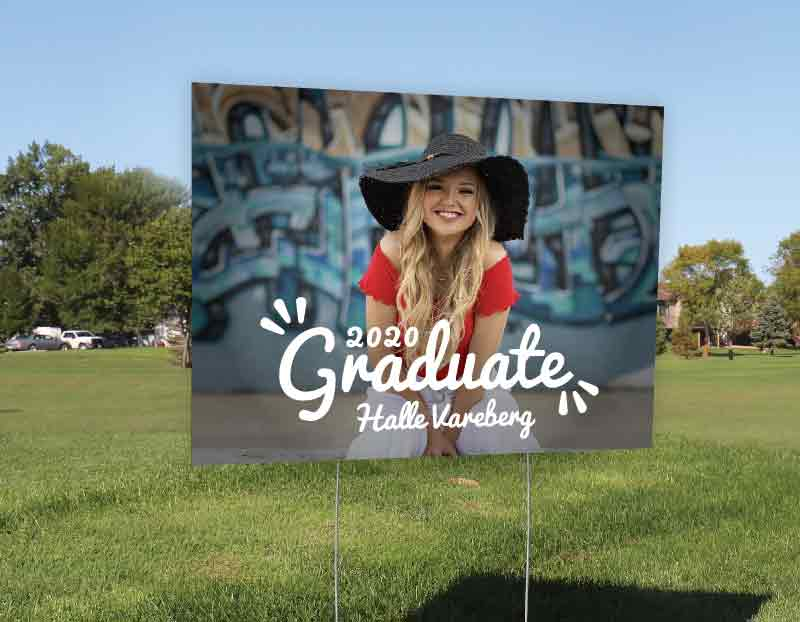 Yard Signs For Graduates Grad Signs For Class Of 2020