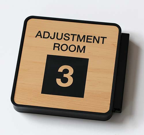 custom exam room signs adjustment room signs